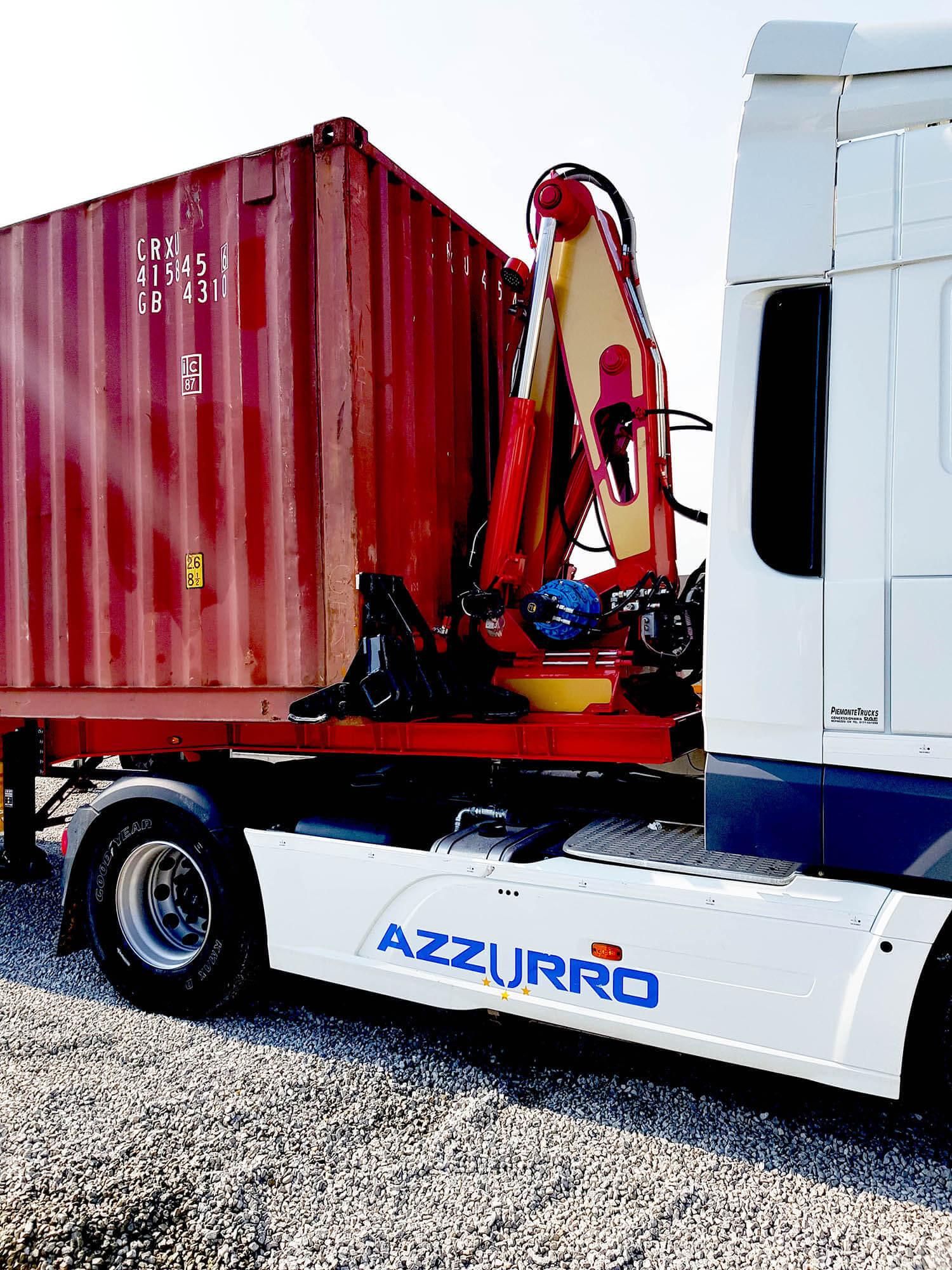 Rivoluzione del trasporto di container su strada